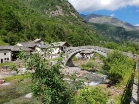 Ponte di Fondo (TO) in Valchiusella