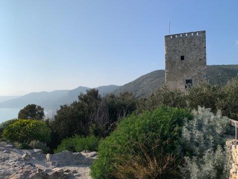Torre saracena di punta Crena (SV)